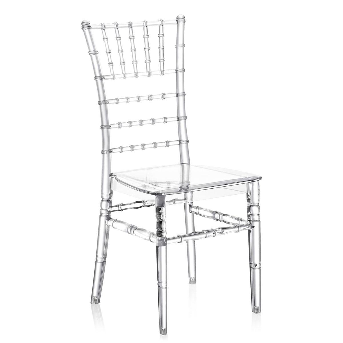 Καρέκλα για δεξιώσεις και γάμους Tilia Tiffany PC Διάφανη
