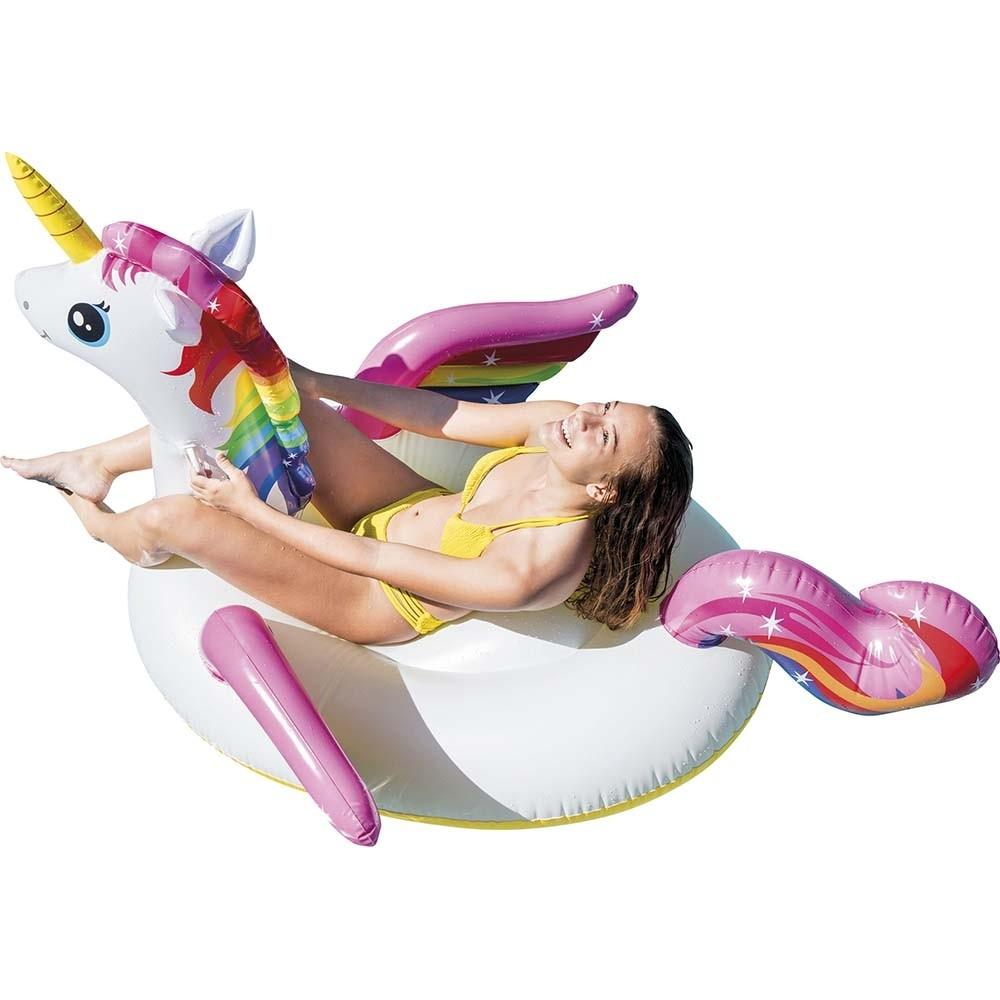 Φουσκωτό παιχνίδι Μονόκερος Intex Unicorn Ride-on - 57561