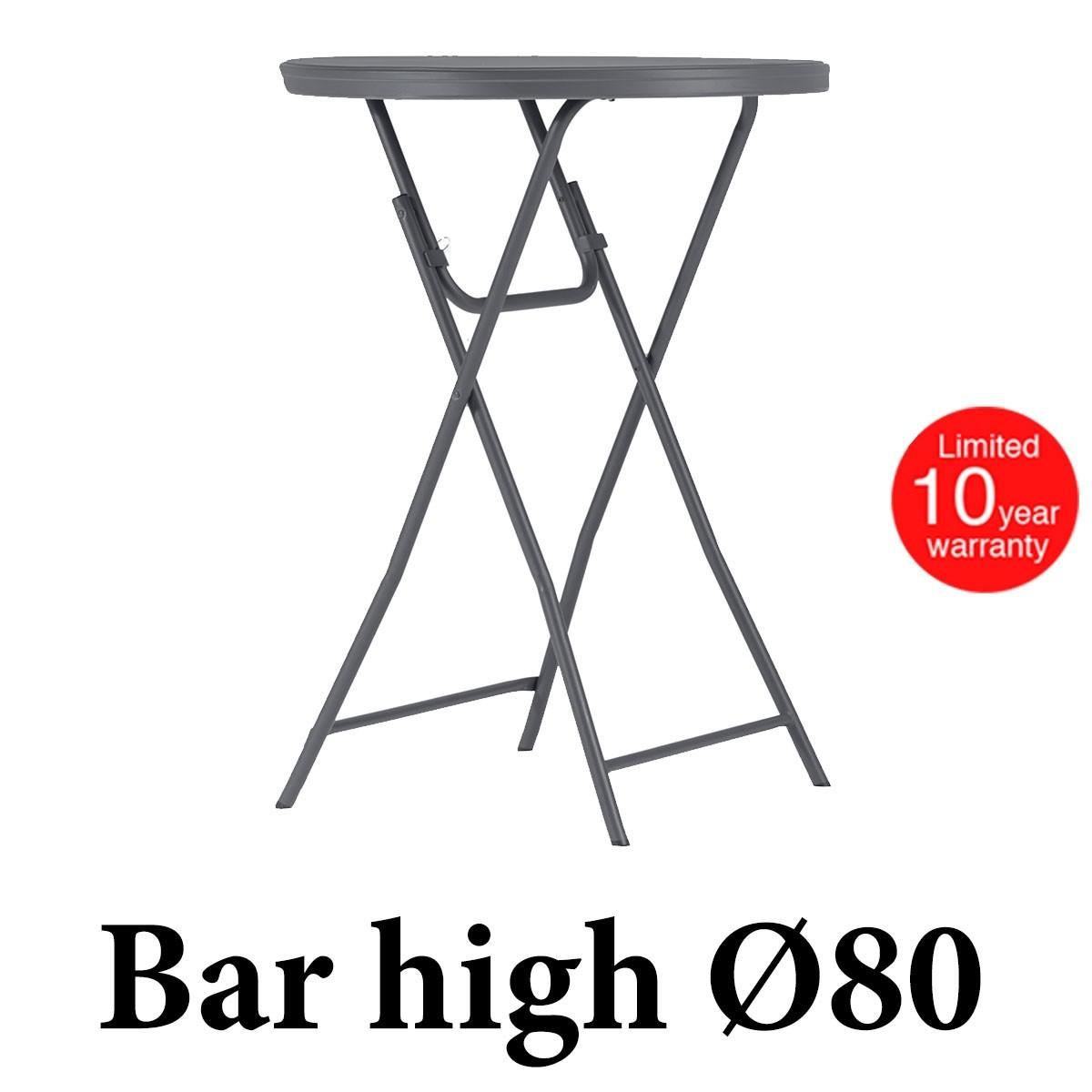 Πτυσσόμενο τραπέζι Zown Cocktail Bar 80