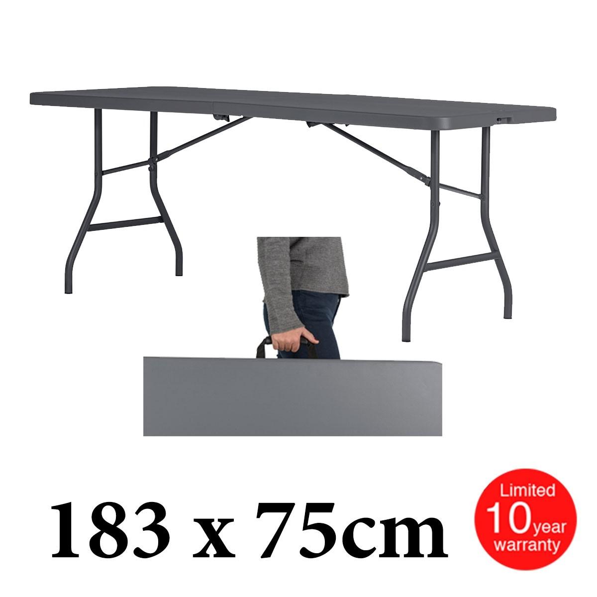 Πτυσσόμενο τραπέζι βαλίτσα οκτώ ατόμων Zown Sharp Table 180