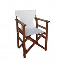 Πολυθρόνα σκηνοθέτου πτυσσόμενη Οξυά Διάτρητο PVC 2x1