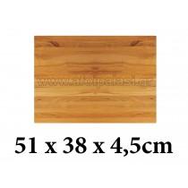Πλάκα κοπής από ξύλο με ειδική επεξεργασία Tablecraft Butcher board chopping blocks 51,5x38x4,5cm