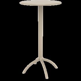 Πλαστικό Τραπέζι σε ύψος Bar Siesta Octopus Bar Ø60cm Taupe