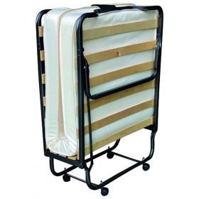 Σπαστό κρεβάτι - Πτυσσόμενο κρεβάτι Ιταλίας με τάβλες και στρώμα 10cm Veraflex Luxor 90x200cm