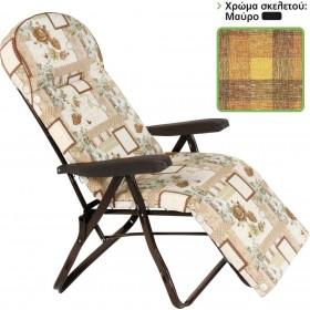 Πτυσσόμενη πολυθρόνα με 6 θέσεις και υποπόδιο Escape 15659