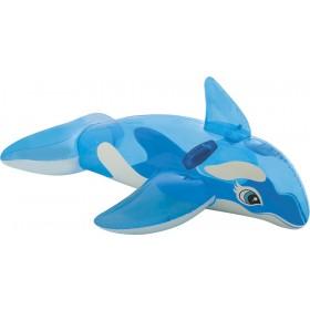 Φουσκωτό παιχνίδι Φάλαινα διαφανές Intex 58523