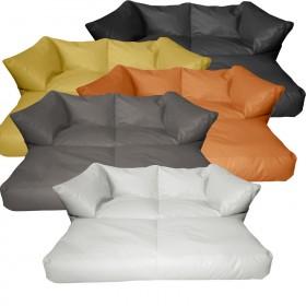 Διθέσιος καναπές κρεβάτι πουφ Corner αναδιπλούμενος