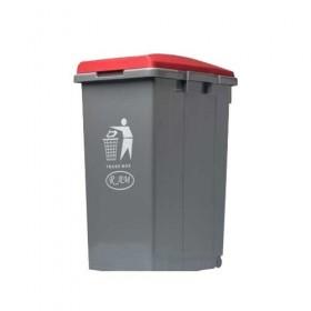 Κάδος απορριμάτων - ανακύκλωσης Ram 45lt Κόκκινο