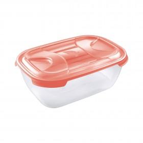 Δοχείο τροφίμων microwave Tontarelli Nuvola Rectangular 3000ml
