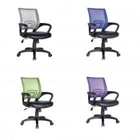 Καρέκλα γραφείου BF2101 πλαστικό πόδι, σε 5 χρώματα