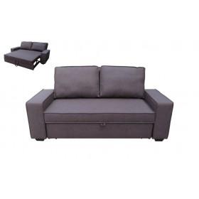 Καναπές κρεβάτι Alison σκ. καφέ