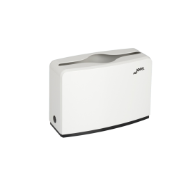Πλαστική επιτραπέζια θήκη για χειροπετσέτες ζικ-ζακ Jofel White AH52000