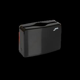 Πλαστική επιτραπέζια θήκη για χειροπετσέτες ζικ-ζακ Jofel Black AH52600
