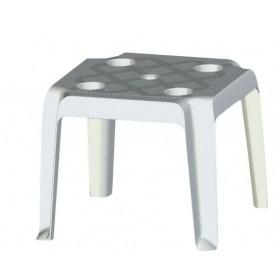 Στοιβαζόμενο πλαστικό τραπέζι πισίνας Απόλλων
