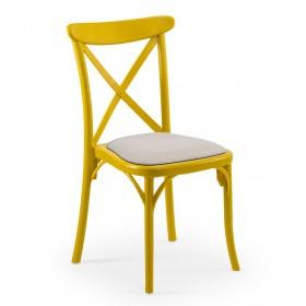 Καρέκλα εστιατορίου Cafe Tilia Capri με μαξιλάρι