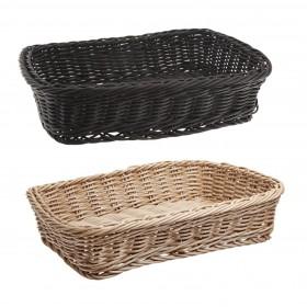 Τετράγωνο πλεκτό καλάθι ψωμιού Carlisle Rectangular woven Basket 30cm