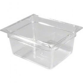 Πλαστικά δοχεία φαγητού Carlisle Top Notch® 1/2GN Clear από