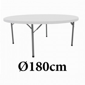 Πτυσσόμενο τραπέζι στρογγυλό Colorado 182