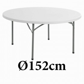 Πτυσσόμενο τραπέζι στρογγυλό Texas 152