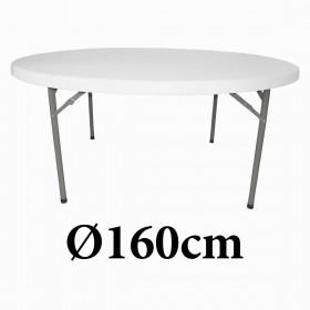 Πτυσσόμενο τραπέζι στρογγυλό Toronto 160