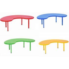Παιδικό τραπέζι Οβάλ σε 4 χρώματα