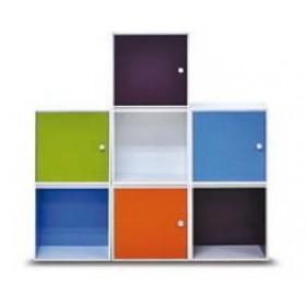 Ντουλάπι με πόρτα 40x40cm Decon Cube σε 9 χρώματα