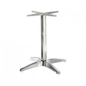 Βάση αλουμινίου για τραπέζι Factory τετράνυχη E011