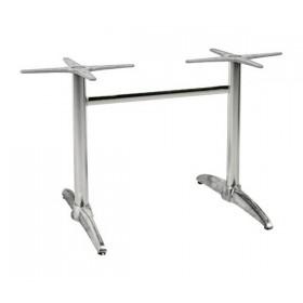 Βάση αλουμινίου για μακρόστενο τραπέζι Palma Διπλή E052,10