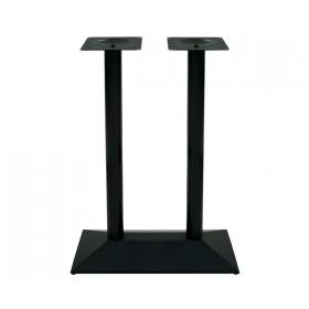 Μεταλλική βάση για τραπέζι ύψος μπαρ Πυραμίδα Διπλή Bar E0731
