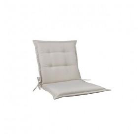 Μονοκόμματο μαξιλάρι Flap για καρέκλα με πλάτη 55cm ύψος σε χρώμα Sandy