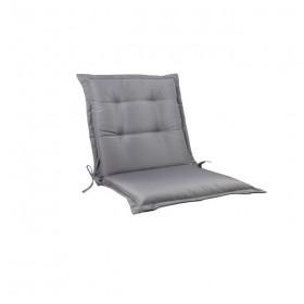 Μονοκόμματο μαξιλάρι Flap για καρέκλα με πλάτη 55cm ύψος σε χρώμα Γκρι