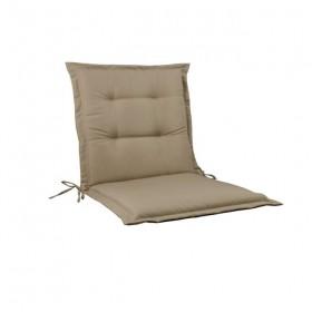 Μονοκόμματο μαξιλάρι Flap για καρέκλα με πλάτη 55cm ύψος σε χρώμα Cappuccino