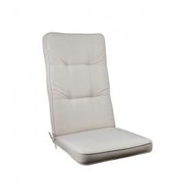 Μονοκόμματο μαξιλάρι Cord για καρέκλα με πλάτη 72cm  σε χρώμα Sandy