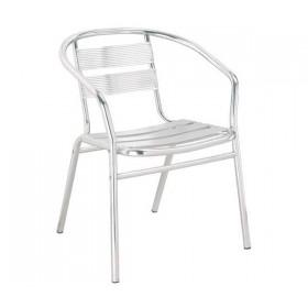 Καρέκλα αλουμινίου Silver
