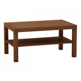 Μακρόστενο τραπέζι σαλονιού 90x50cm Decon Κερασί