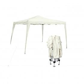 Πτυσσόμενη τέντα  - Μεταλλικό κιόσκι Gazebo 3x3m ύφασμα 140gr/m²