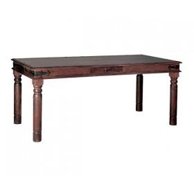Παραδοσιακό τραπέζι Ostia με συρτάρι 175x90cm