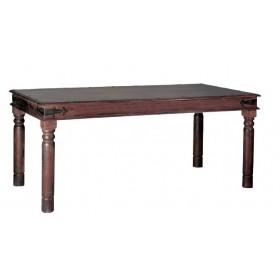 Παραδοσιακό τραπέζι Ostia χωρίς συρτάρι 130x80cm