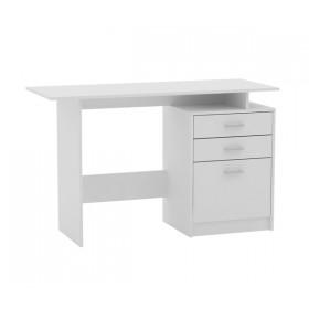 Νεανικό Γραφείο με συρτάρια 120x48cm Decon Λευκό