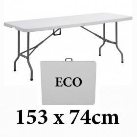 Πτυσσόμενο τραπέζι βαλίτσα Milano ECO 152