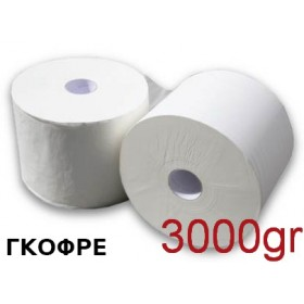 Βιομηχανικό χαρτί Strong Γκοφρέ 3kg συσκευασία 2 ρολών Κωδ.030
