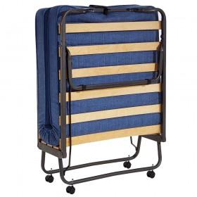 Σπαστό κρεβάτι - Πτυσσόμενο κρεβάτι Ιταλίας με τάβλες και στρώμα 10cm Veraflex Luxor 120x190cm