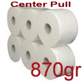 Χαρτί υγείας Center pull 870gr 6 ρολά Κωδ.915