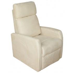 Πολυθρόνα Relax 1400 microfibre - Μπεζ