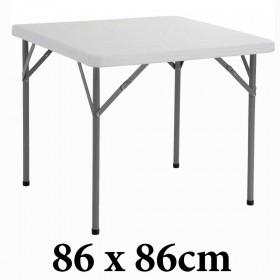 Πτυσσόμενο τραπέζι Peru 86x86cm