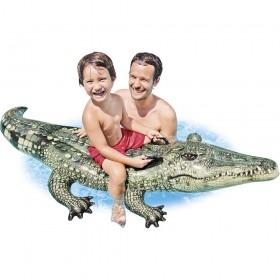 Φουσκωτό παιχνίδι Κροκόδειλος Intex Realistic Gator Ride-On 57551