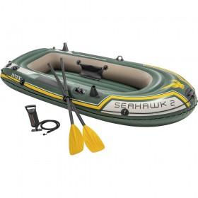 Φουσκωτή βάρκα Intex Sport series Seahawk 2 σετ με κουπιά και τρόμπα 68347