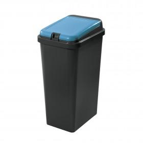 Πλαστικός κάδος ανακύκλωσης Tontarelli Bido 45lt Μπλε