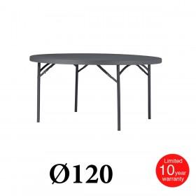 Πτυσσόμενο τραπέζι ροτόντα Zown Planet 120