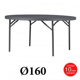 Πτυσσόμενο τραπέζι ροτόντα Zown Planet 160